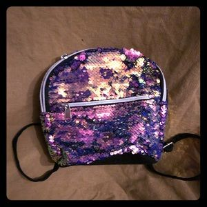 NWOT Children's Place sequined mini backpack